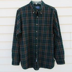 Vtg SIR PENDLETON Wool Cockburn Tartan Shirt Large